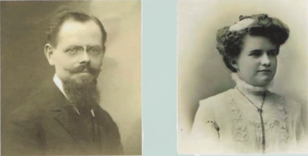André Walusinski et son épouse Alice