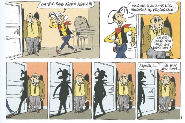 Jolly Jumper ne répond plus © Bouzard – Dargaud 2017. Une chronique de Didier Ottaviani