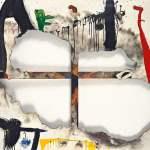 Joan Miró - Burnt Canvas (1973)