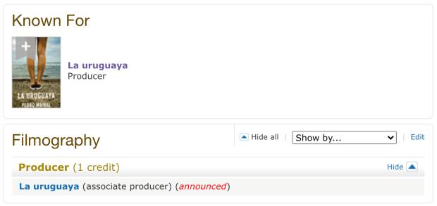 IMDb - La uruguaya