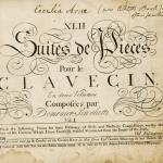 """Scarlatti, """"Suites de pièces pour le clavecin"""", édition Roseingrave. Si l'on en juge par le touchant petit mot laissé sur cette édition Roseingrave de sonates de Scarlatti, Cecilia Arne, célèbre soprano et grande amie de Händel, a dû passer de longues heures dessus : """"I have often practiced these"""" écrit-elle : je les ai beaucoup travaillées..."""