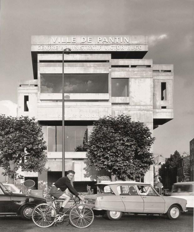 centre administratif Pantin architecture