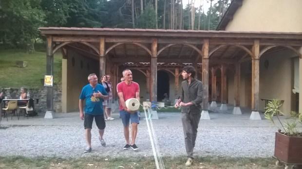 """Goutelas : réalisation de première """"corde à 13 noeuds"""", de Benjamin Frouin"""