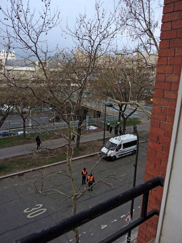 Passerelle, rue du général Rocques © Gilles Walusinski