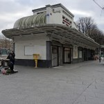 Station Porte des Lilas, édicule de Charles Plumet - Photo ©Gilles Walusinski