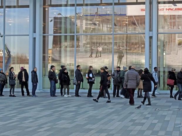 Le parvis du Tribunal de grande instance à Paris - Photo ©Gilles Walusinski