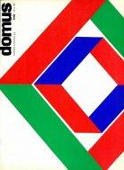 Couverture de la revue Domus n°448, mars 1967