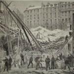 Effondrement du marché Saint-Martin en 1879