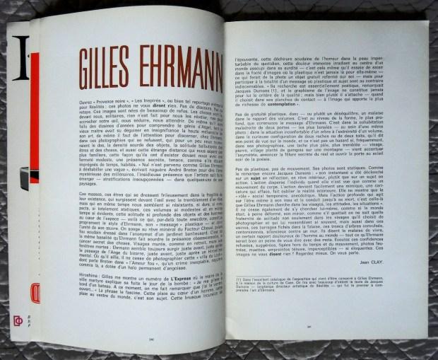 Gilles Ehrmann, dans Techniques photographiques