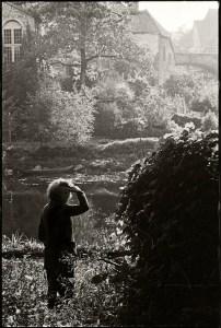 Gisèle Freund en 1979 à Carennac, dans le Lot ©Gilles Walusinski