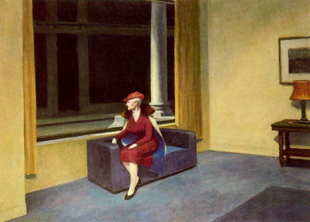 Hotel Window, Edward Hopper, 1955