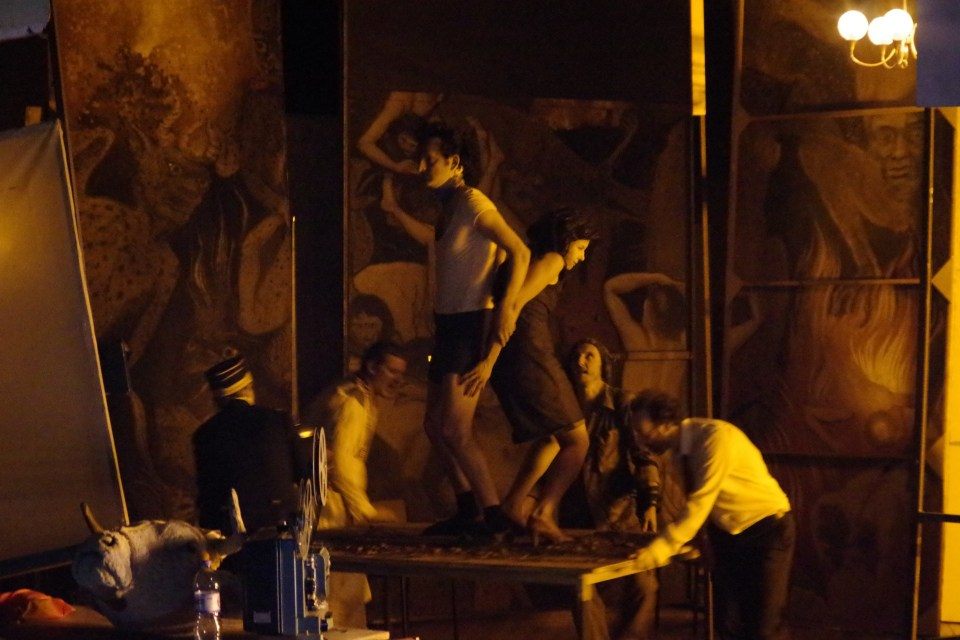 Angelus novus, AntiFaust, mise en scène de Sylvain Creuzevault. Une critique de René Solis dans délibéré