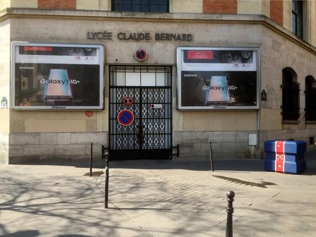 Lycée Claude-Bernard © Gilles Walusinski