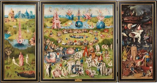 Jérôme Bosch, Triptyque du Jardin des Délices, 1490 - 1500, Musée du Prado, Madrid