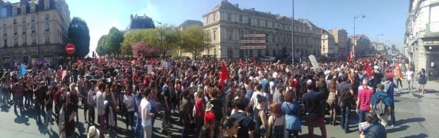 Manifestation à Rennes le 19 avril 2018 ©André Belo