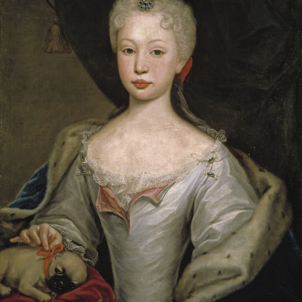 Domenico Duprà: Maria Barbara de Braganza, Museo del Prado Scarlatti