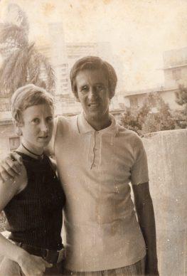 Miriam Lezcano et Roque Dalton à La Havane © Archives de la famille Dalton