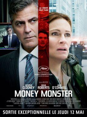 """L'affiche du film """"Money Monster"""". Une critique cinéma de Thomas Gayrard dans Délibéré"""