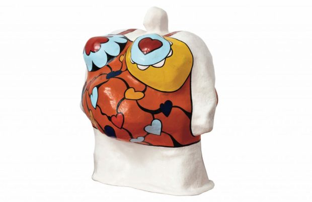 Niki de Saint Phalle, Nana Boule (orange), circa 1966-1967 ©André Morin, Courtesy NCAF et Galerie GP & N Vallois, Paris