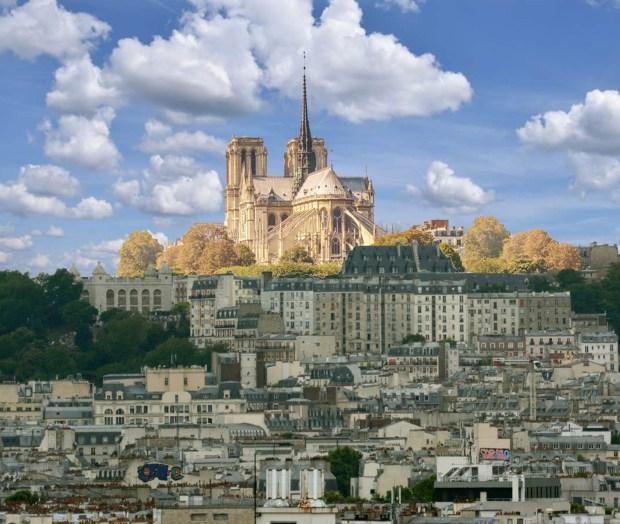 Reconstruction de Notre-Dame. Une idée révolutionnaire © Philippe Mignon