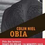 Obia, de Colin Niel (Rouergue noir)