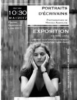 Hannah Assouline, Portraits d'écrivains (exposition, mai 2017)