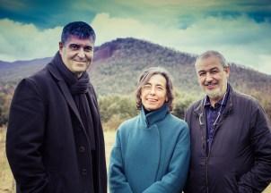 Rafael Aranda, Carme Pigem and Ramon Vilalta. Photo Javier Lorenzo Domínguez