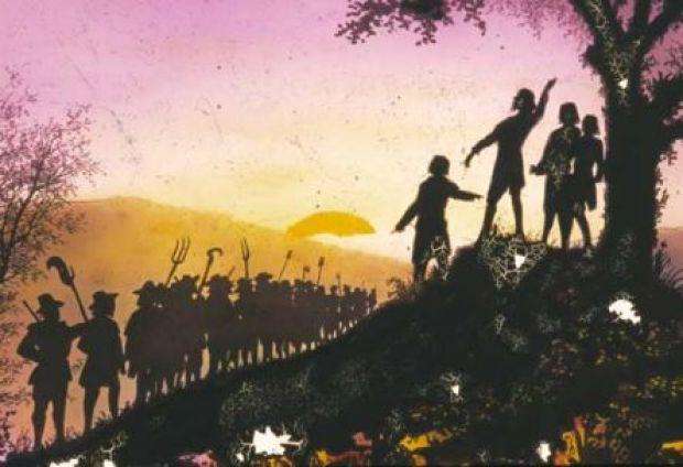 Samuel Bastide, Assemblée. La nuit du 23 Juillet 1702, celle qui ouvre la « guerre des Camisards » par la réunion d'un cinquantaine de jeunes gens armés au site des 3 Fayards, sur le Mont Bougès, autour du prophète Abraham Mazel. SUR LES TRACES DES CAMISARDS, carnet de bord de Thomas Gayrard dans délibéré