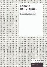Leçons de la Shoah, de Gérard Rabinovitch, Canopé éditions