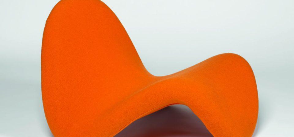 Pierre Paulin, Siège 577 dit Tongue, 1967. © Coll. Centre Pompidou, musée national d'art moderne / Photo JC. Planchet