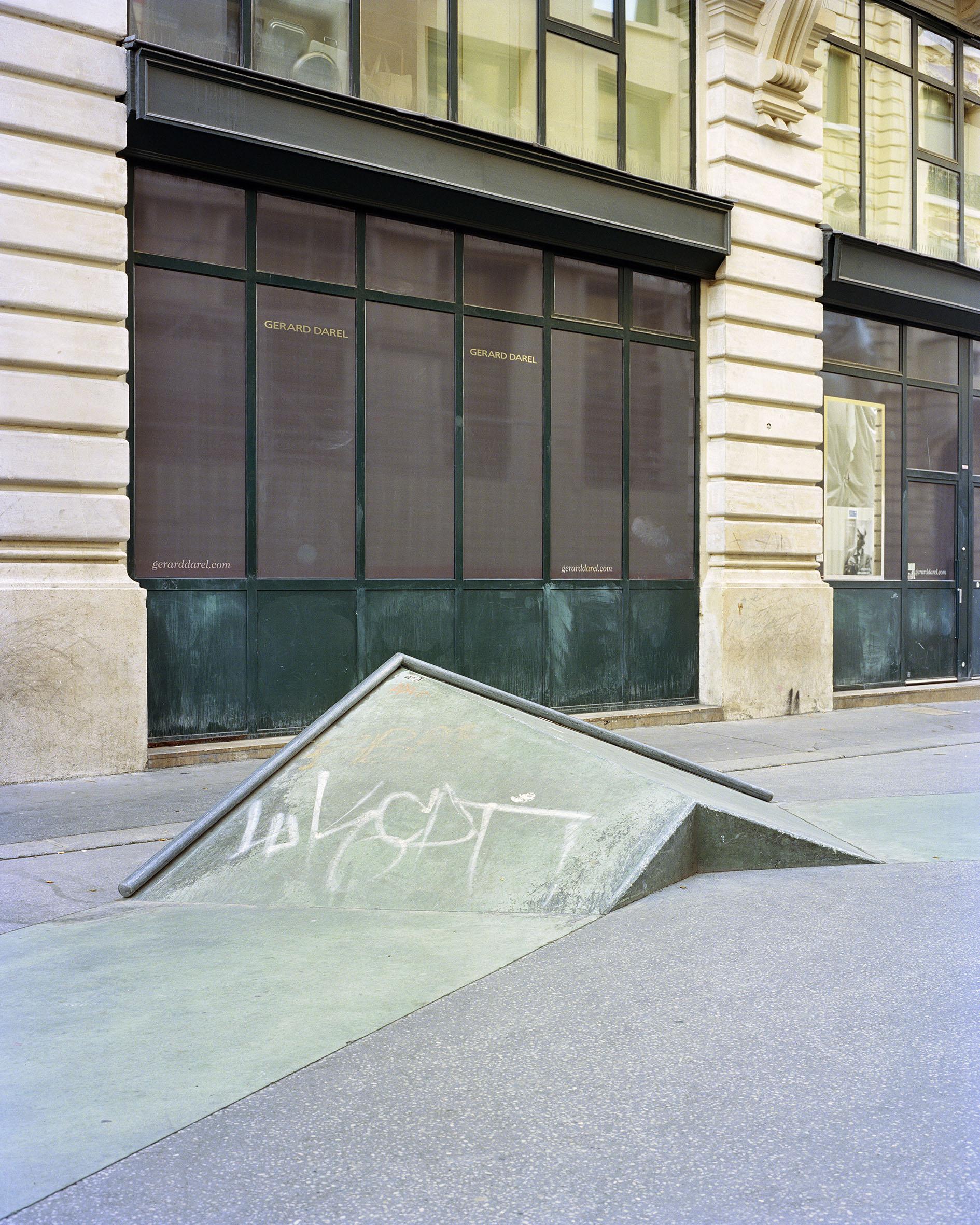 Skatepark rue Léon Cladel, Paris, Agence Constructo & Raphaël Zarka, 2012 (Photo Stéphane Ruchaud 2016)