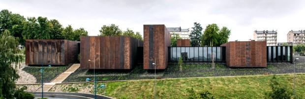 Musée Soulages, 2014, Rodez. En collaboration avec G.Trégouët. Photo Hisao Suzuki