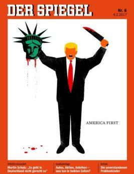Une du magazine allemand Der Spiegel, 4 février 2017
