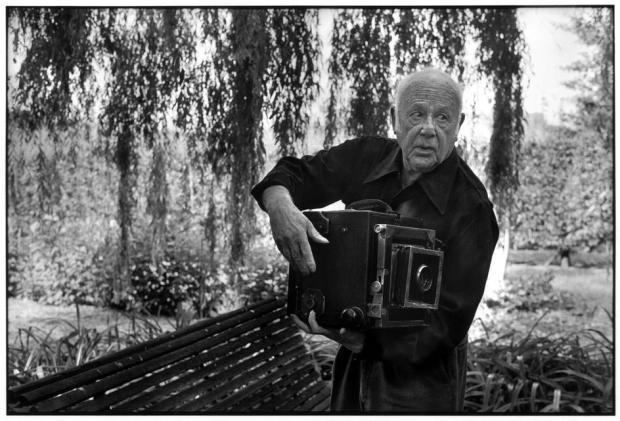 Paul Strand par Martine Franck en 1972