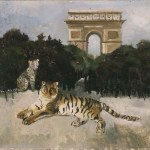 Tigre et Arc de Triomphe (Christopher Wood 1930)