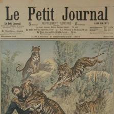 """Les aventures de Tigrovich, tigre, prince et artiste, épisode 16: """"La presse"""""""