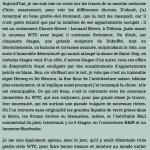 Antoine de Baecque, un marcheur à New York, chapitre 12
