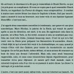 Antoine de Baecque, un marcheur à New York, chapitre 9