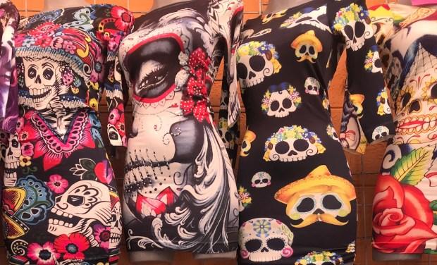 Vestidos Calacas © Christilla Vasserot
