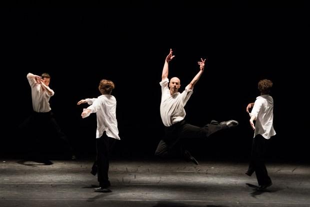 Trois grandes fugues, par le Ballet de l'Opéra de Lyon. Die Grosse Fuge, d'Anne Teresa De Keersmaeker ©Stofleth