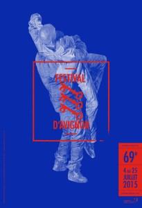 Festival d'Avignon - Visuel de l'édition 2015 © Guillaume Bresson - Courtesy Galerie Nathalie Obadia, Paris - Bruxelles