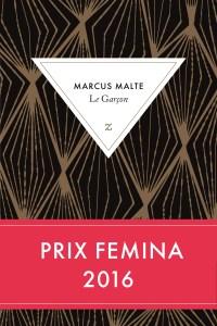 Marcus Malte, Le Garçon. Une ordonnance littéraire de Nathalie Peyrebonne