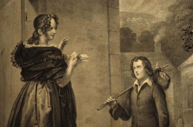 Madame de Warens et Jean-jacques Rousseau