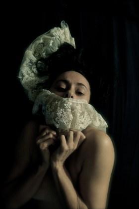 Angélica Liddell, autoportrait © Angélica Liddell