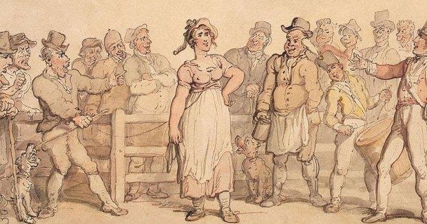 Selling a Wife - Thomas Rowlandson