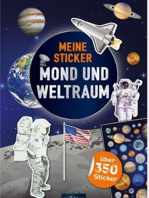 Meine Sticker- Mond und Weltraum
