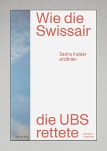 """Buchcover """"Swissair rettet UBS"""""""