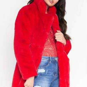 City Winter Faux Fur – Rouge