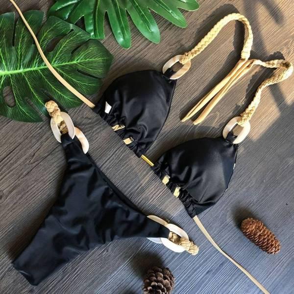 Bikini maillot de bain glamour 4