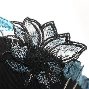 Soutien-gorge brassière ensembles dentelle florale broderie
